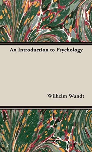 9781443723084: An Introduction To Psychology