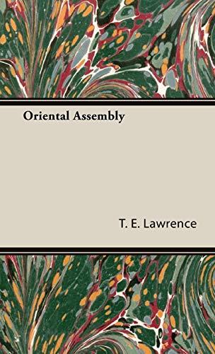 9781443725613: Oriental Assembly