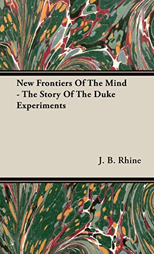 9781443726290: New Frontiers Of The Mind - The Story Of The Duke Experiments