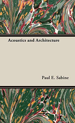9781443727327: Acoustics and Architecture