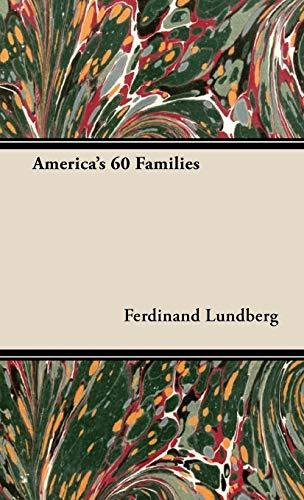 9781443727617: America's 60 Families