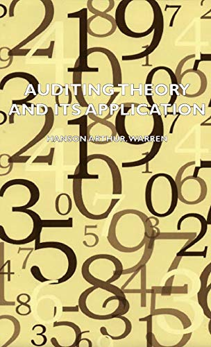 9781443728089: Auditing Theory and Its Application