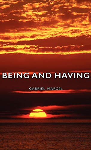 9781443728331: Being and Having