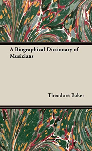 9781443728478: A Biographical Dictionary of Musicians