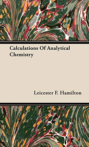 9781443728799: Calculations of Analytical Chemistry