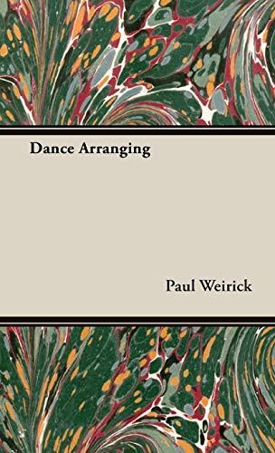 9781443729840: Dance Arranging