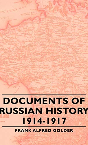 9781443730297: Documents of Russian History 1914-1917