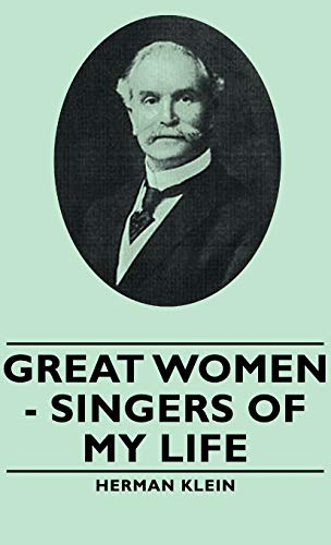 9781443730587: Great Women - Singers of My Life