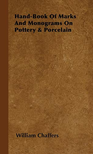 9781443730679: Hand-Book of Marks and Monograms on Pottery & Porcelain