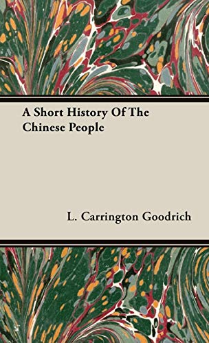 9781443731171: A Short History Of The Chinese People