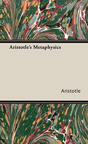 9781443732772: Aristotle's Metaphysics
