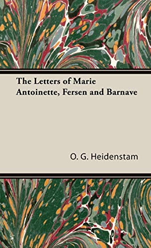9781443733144: The Letters of Marie Antoinette, Fersen and Barnave