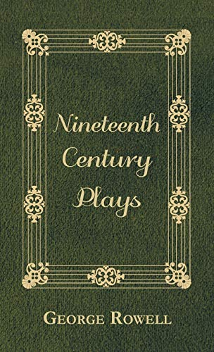 9781443733465: Nineteenth Century Plays