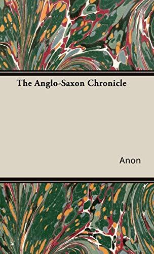 9781443733922: The Anglo-Saxon Chronicle