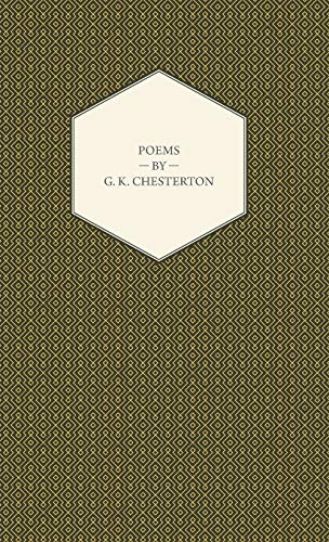9781443734240: Poems by G. K. Chesterton