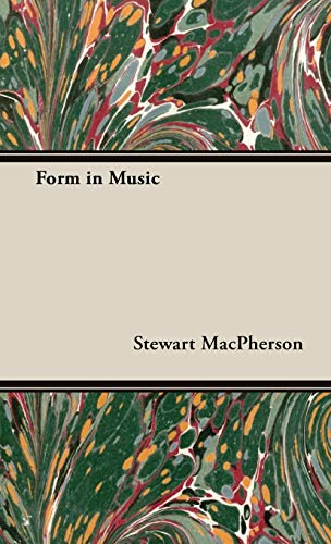 9781443734455: Form in Music