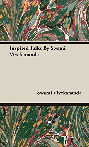 9781443739139: Inspired Talks By Swami Vivekananda