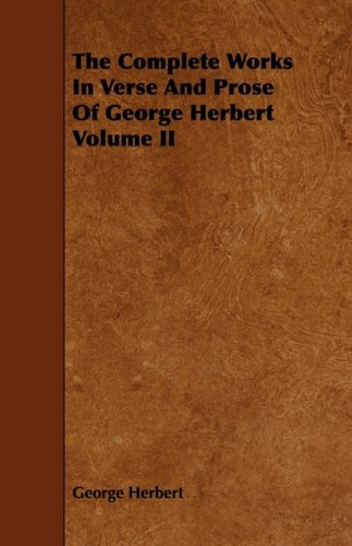 a plot review of george herberts poem the collar