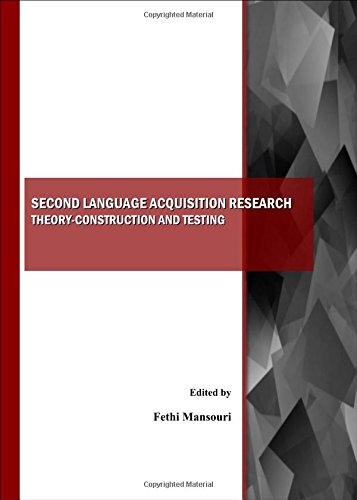 9781443800440: Second Language Acquisition Research: Theory-Construction and Testing