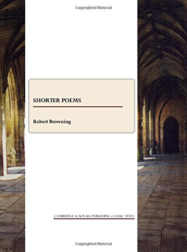 9781443800624: Shorter Poems