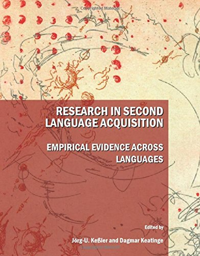 9781443809610: Research in Second Language Acquisition: Empirical Evidence Across Languages