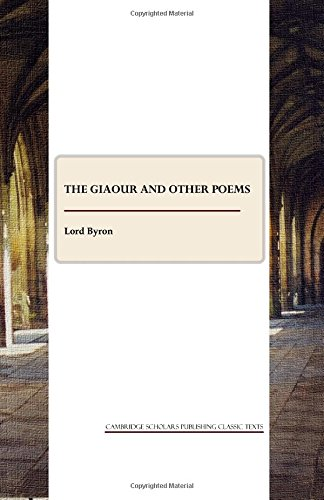 9781443809672: The Giaour and Other Poems