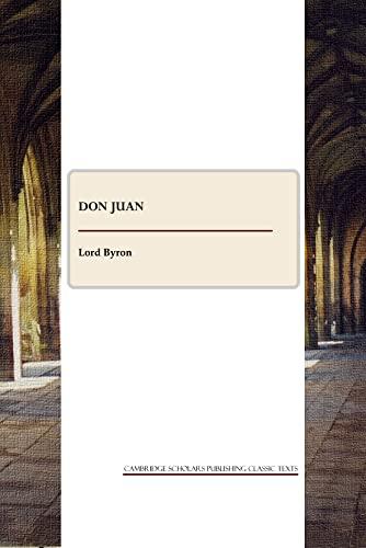 9781443809702: Don Juan