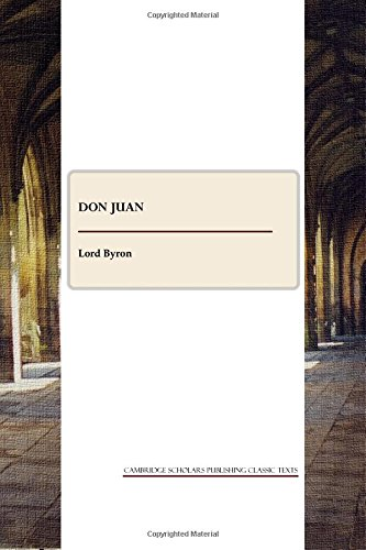 9781443809702: Don Juan (Cambridge Scholars Publishing Classics Texts)
