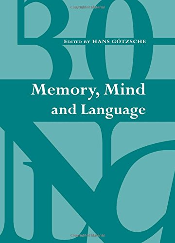 9781443816397: Memory, Mind and Language