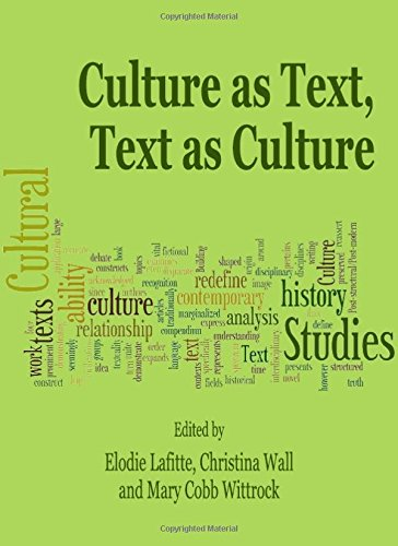 9781443818483: Culture as Text, Text as Culture