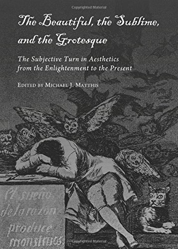 9781443819633: The Beautiful, the Sublime, and the Grotesque: The Subjective Turn in Aesthetics from the Enlightenment to the Present