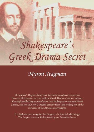 9781443824071: Shakespeare's Greek Drama Secret