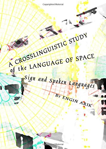 9781443824910: A Crosslinguistic Study of the Language of Space: Sign and Spoken Languages