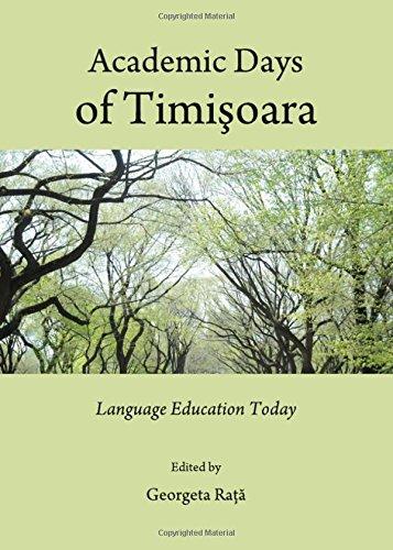 9781443832847: Academic Days of Timisoara: Language Education Today