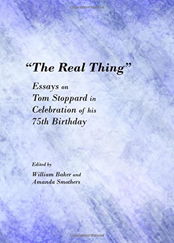 9781443847247: The Real Thing: Essays on Tom Stoppard in Celebration of His 75th Birthday