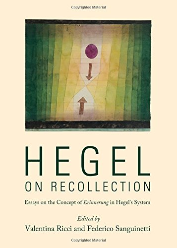 9781443851640: Hegel on Recollection: Essays on the Concept of Erinnerung in Hegel's System