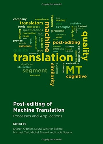 9781443854764: Post-editing of Machine Translation: Processes and Applications