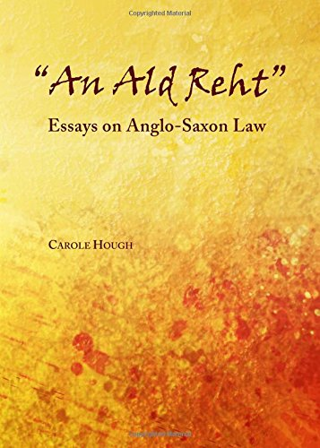 9781443854801: An Ald Reht: Essays on Anglo-Saxon Law