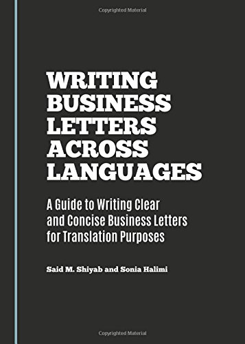 9781443877152: Writing Business Letters Across Languages: A Guide to Writing Clear and Concise Business Letters for Translation Purposes