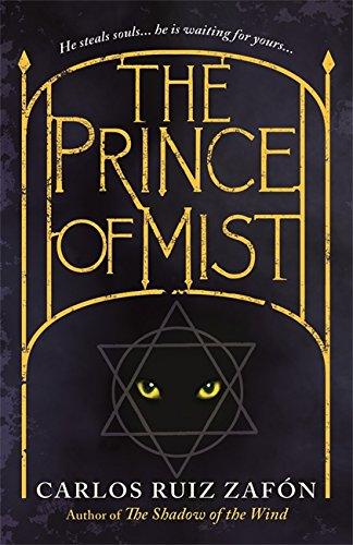 The Prince Of Mist-SIGNED FIRST PRINTING: Zafon, Carlos Ruiz