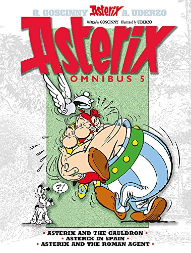 9781444004885: Asterix Omnibus 5: Includes Asterix and the Cauldron #13, Asterix in Spain #14, and Asterix and the Roman Agent #15