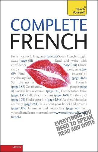 9781444100044: Teach Yourself Complete French (Book + CD)
