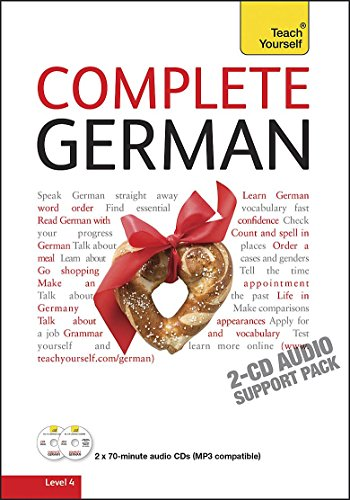 9781444100105: Teach Yourself Complete German: Audio Support (Teach Yourself Complete Courses)