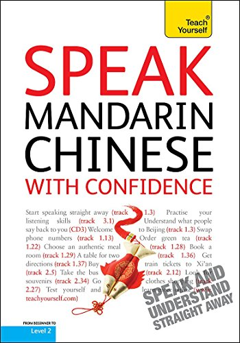 9781444100204: Teach Yourself Speak Mandarin Chinese with Confidence (Teach Yourself Conversations)