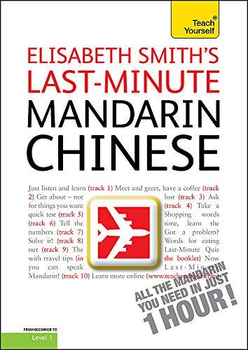 9781444100570: Last-minute Mandarin Chinese: Teach Yourself