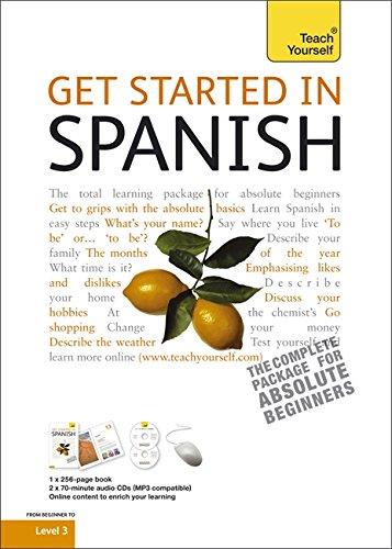 9781444100686: Get Started in Beginner's Spanish: Teach