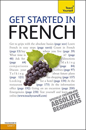 9781444100709: Teach Yourself Get Started in French (Teach Yourself Beginner's Languages)