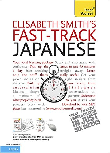 9781444101232: Fast-track Japanese: Teach Yourself (Book/CD Pack)