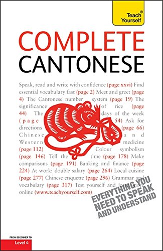 9781444101720: Complete Cantonese (Learn Cantonese with Teach Yourself) (Teach Youreself)