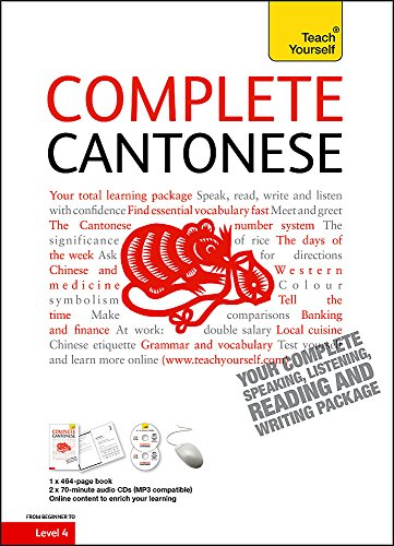 9781444101737: Teach Yourself Complete Cantonese (Book/CD Pack)